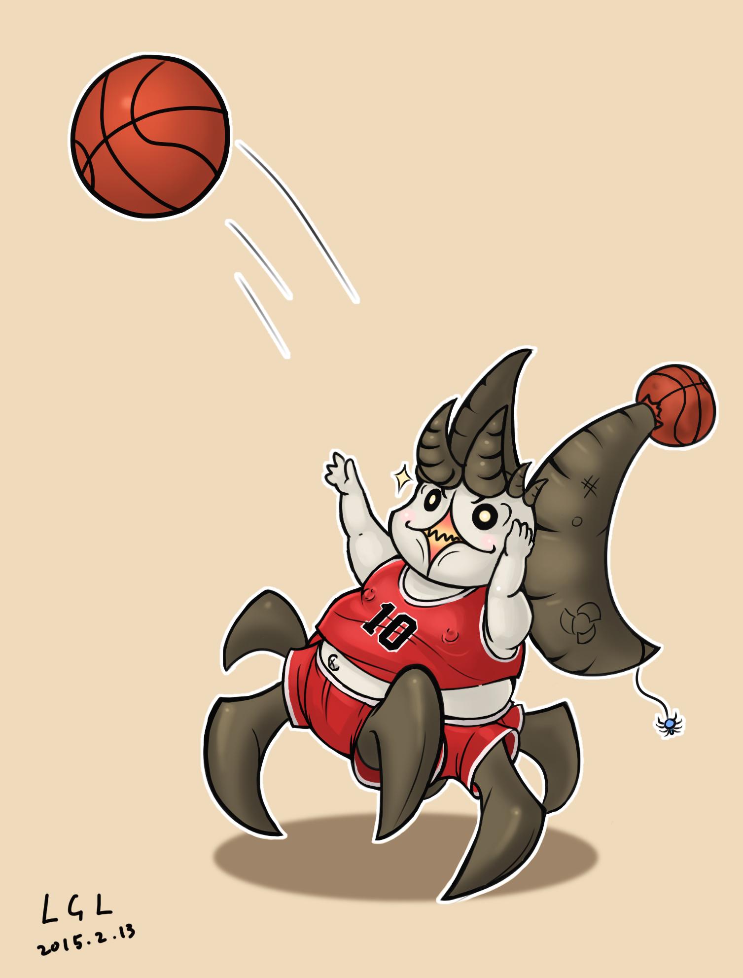 我想打篮球,相比三分球,每天早上穿裤子才是他最大的挑战.jpg